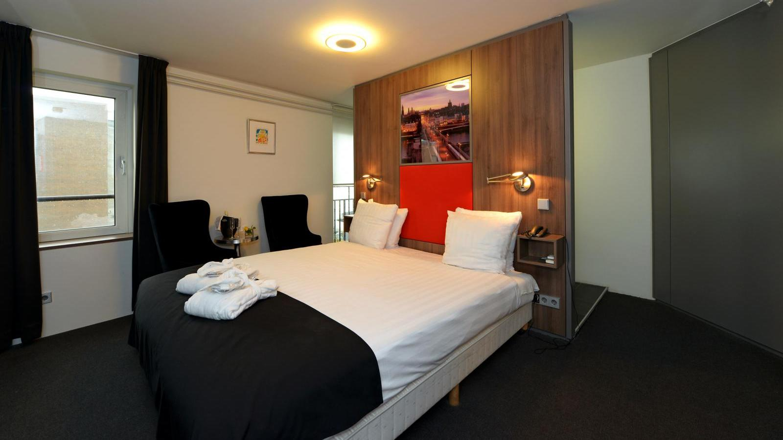 Luxe junior suite apart hotel randwyck maatricht for Appart hotel luxe